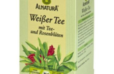 Tee Tipp Alnatura Weißer Tee Mit Rosenblüten Diegesundheitsexperten