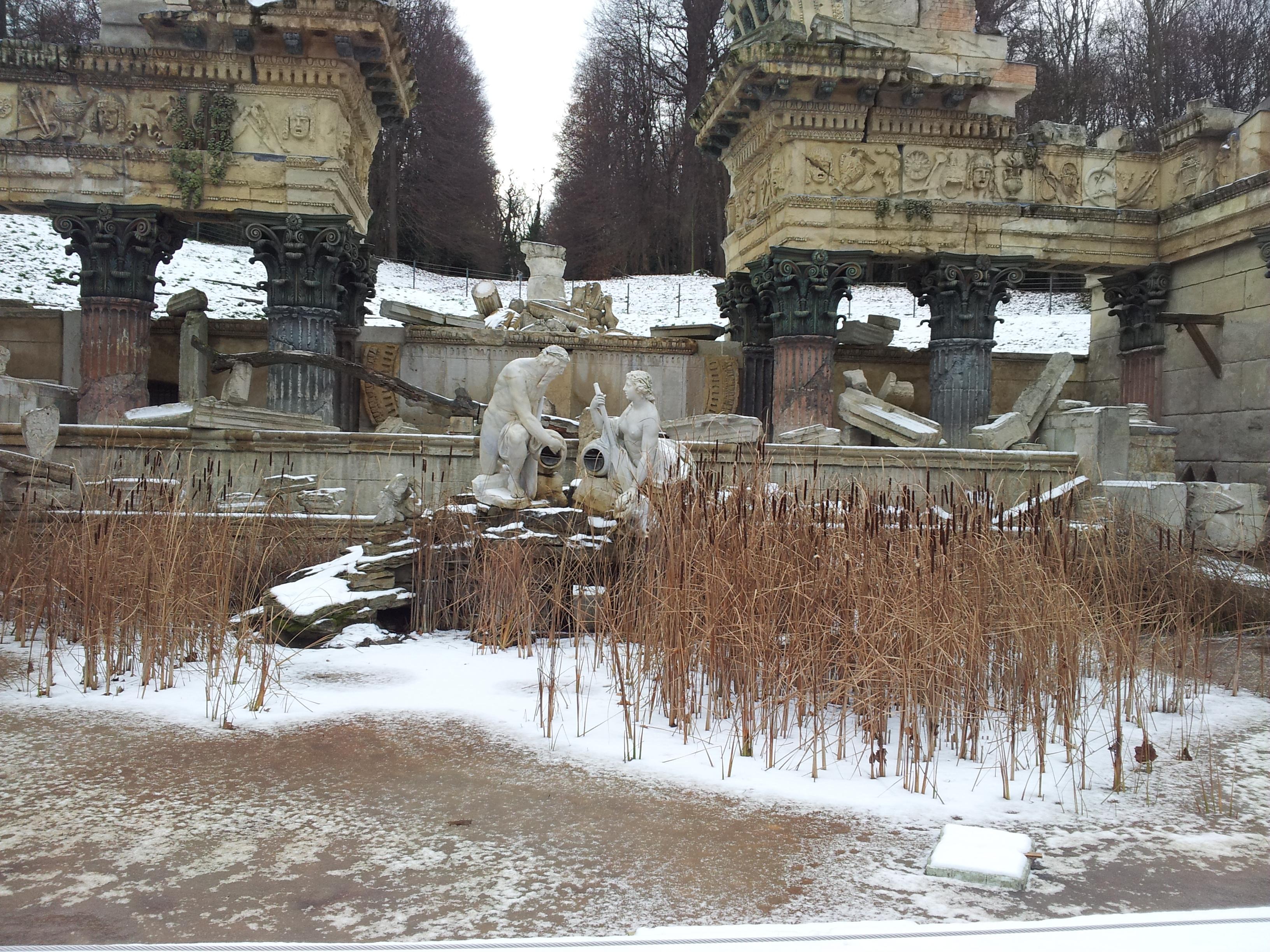 Römische Ruine nah