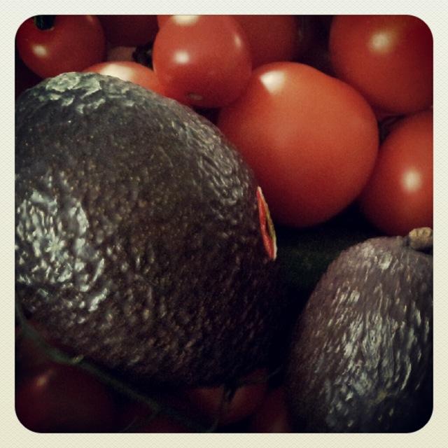 Avocado Tomaten