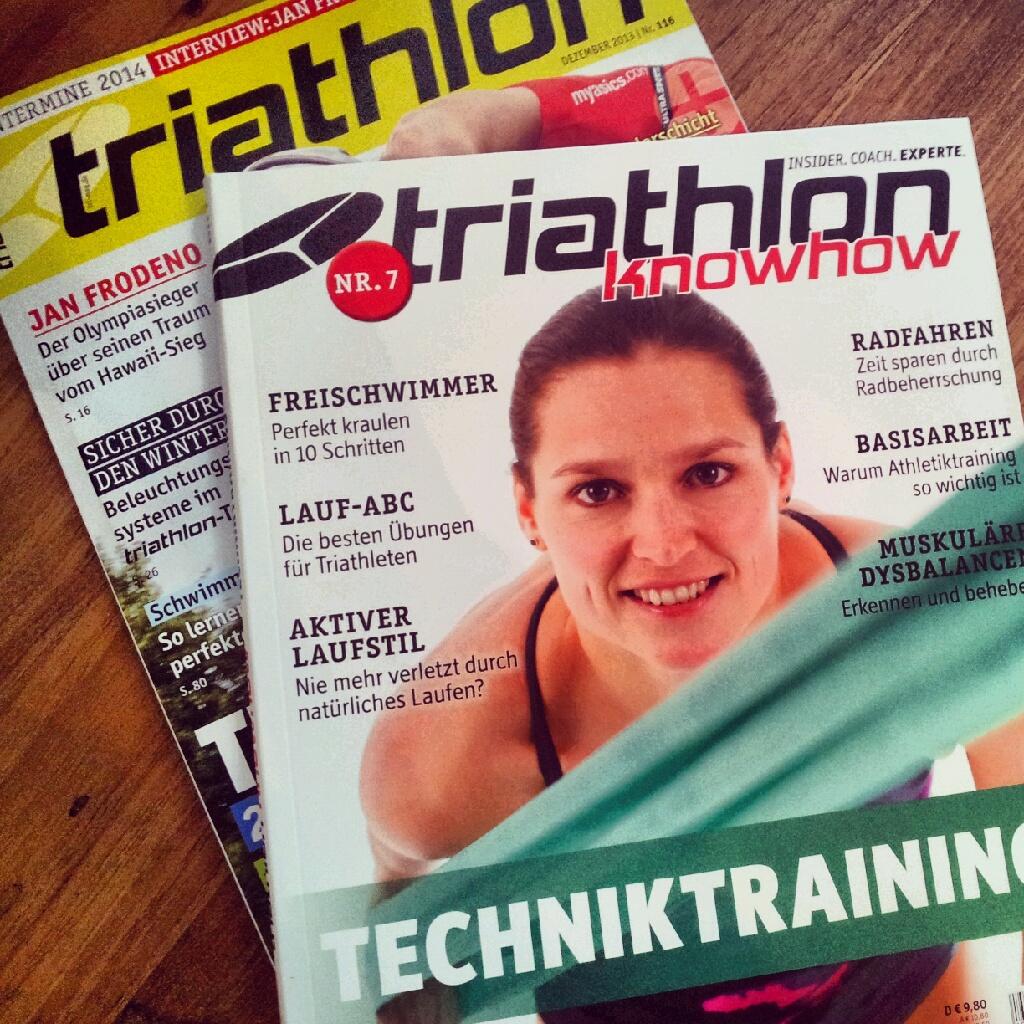 Frischer Lesestoff für Triathleten