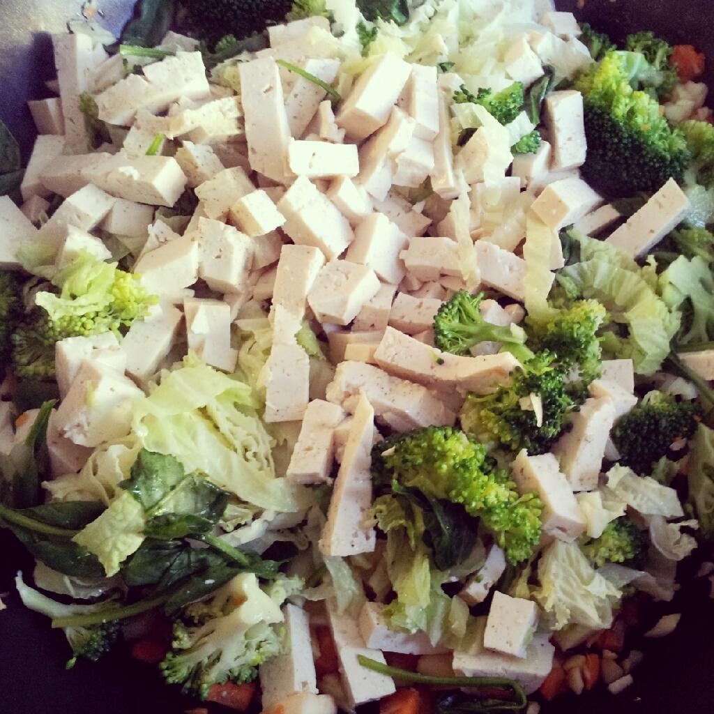 Gemüse Wok