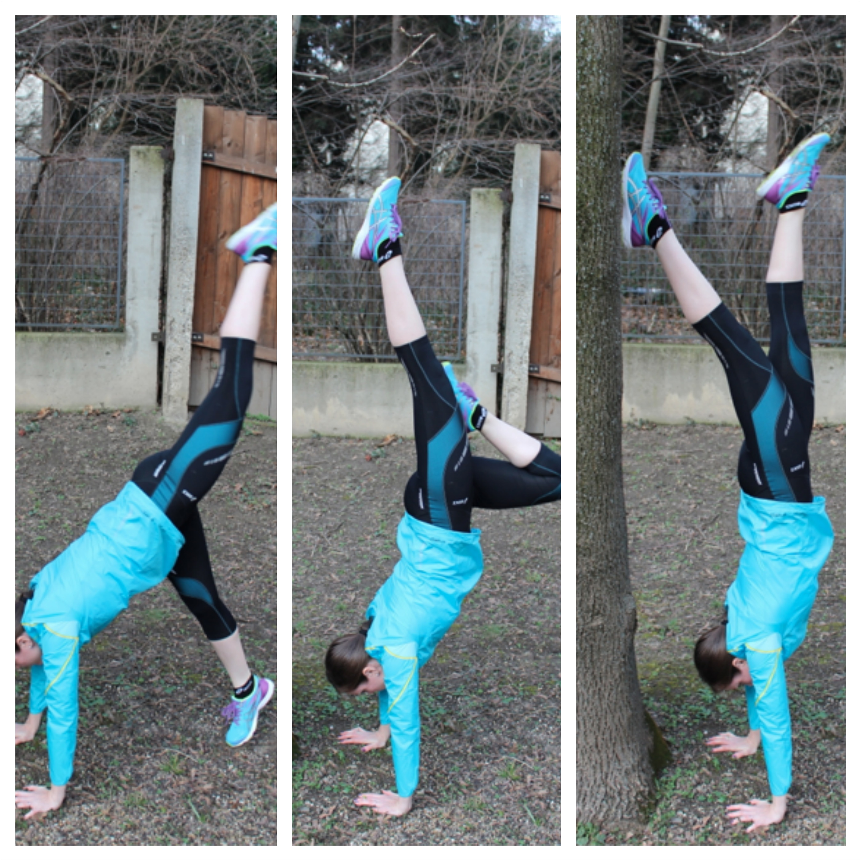 Outdoor Workout Handstand
