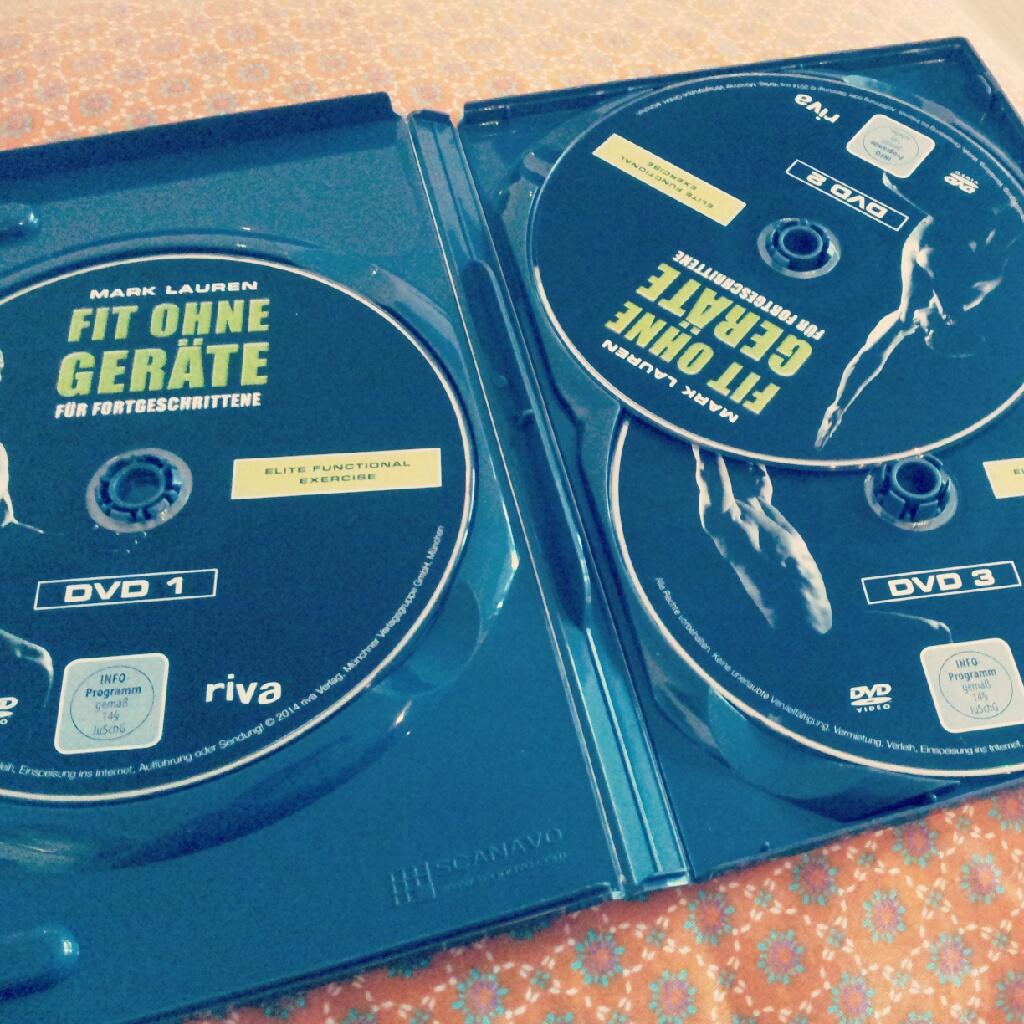 Fit ohne Geräte für Fortgeschrittene Dvd