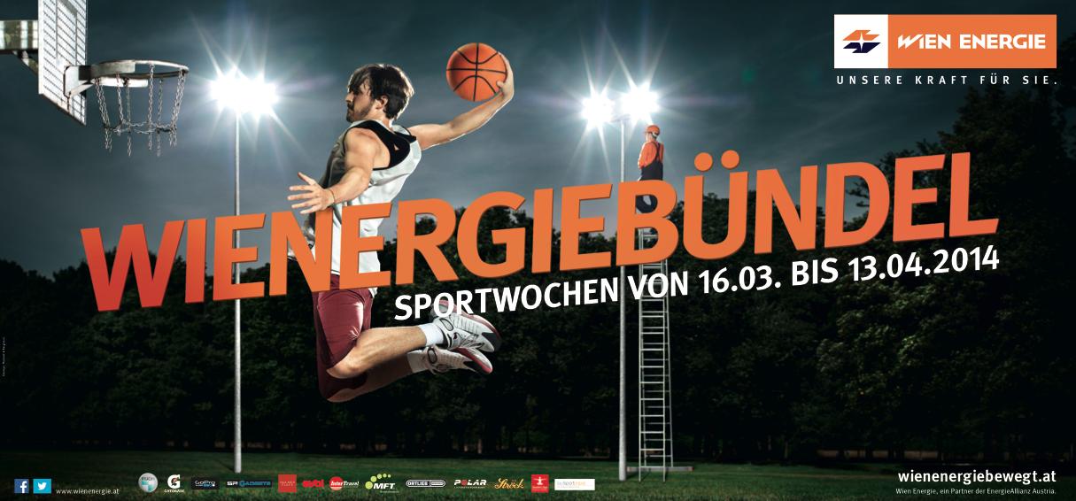 Kooperation mit Wien Energie Sportwochen