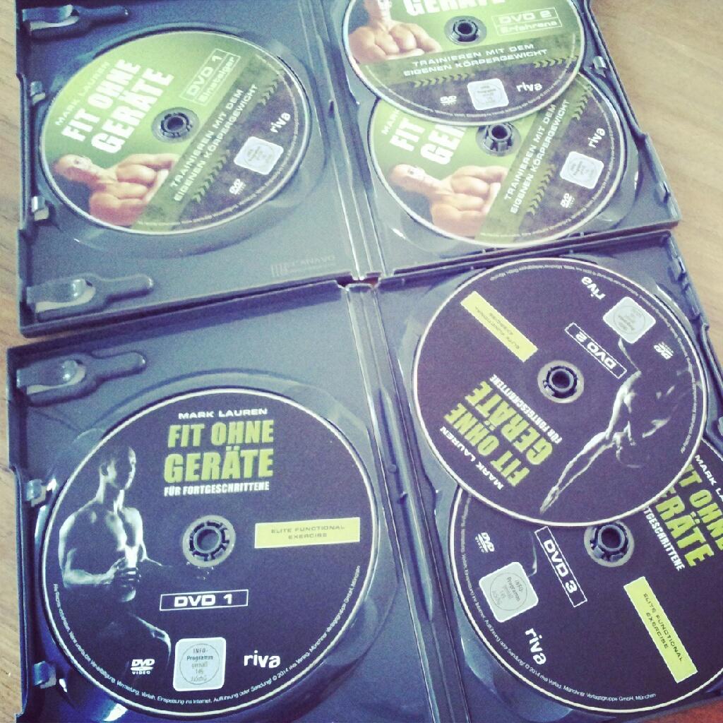 Fit ohne Geräte 3er Dvds