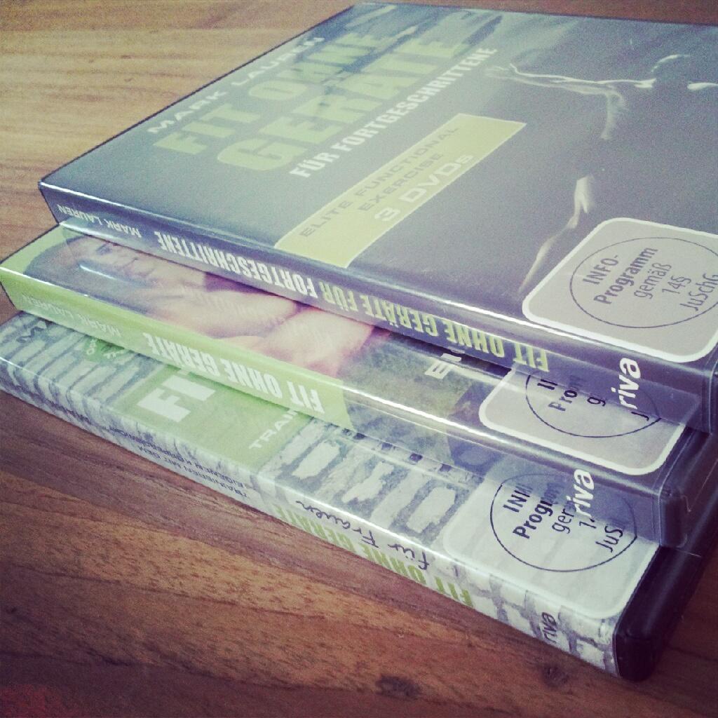 Fit ohne Geräte Dvd Reihe 2