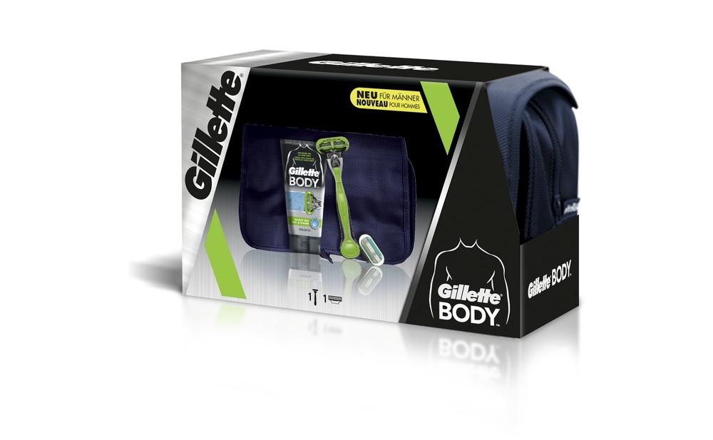 1 Gillette BODY Geschenkset