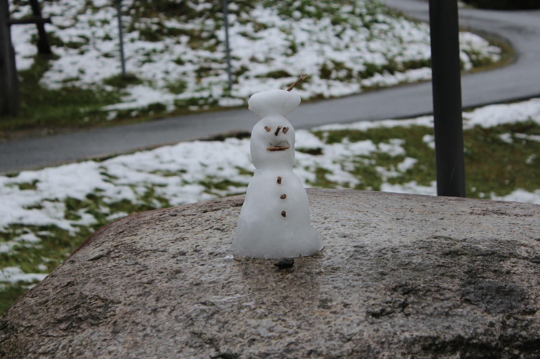 12 Der erste Schneemann