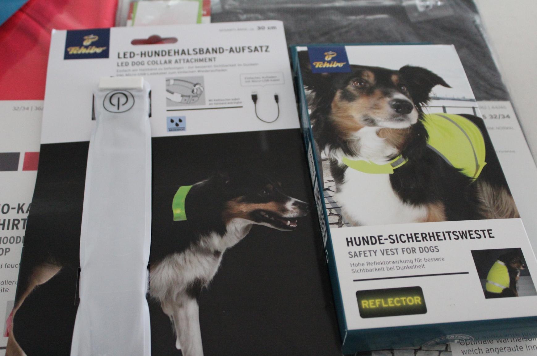 14 Tchibo Laufen mit Hund LED Sichtbarkeit Safety