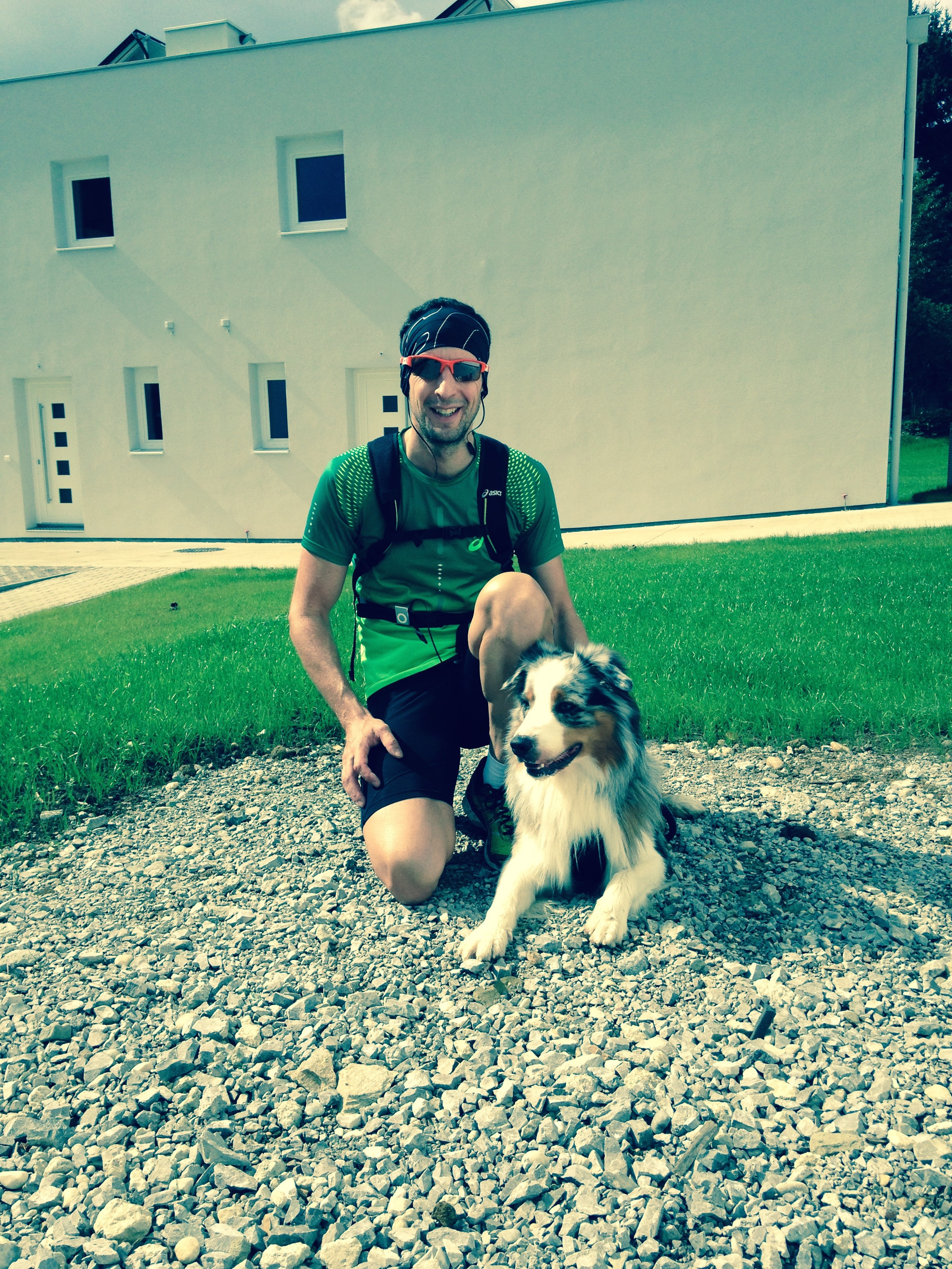 20 Laufen mit Hund