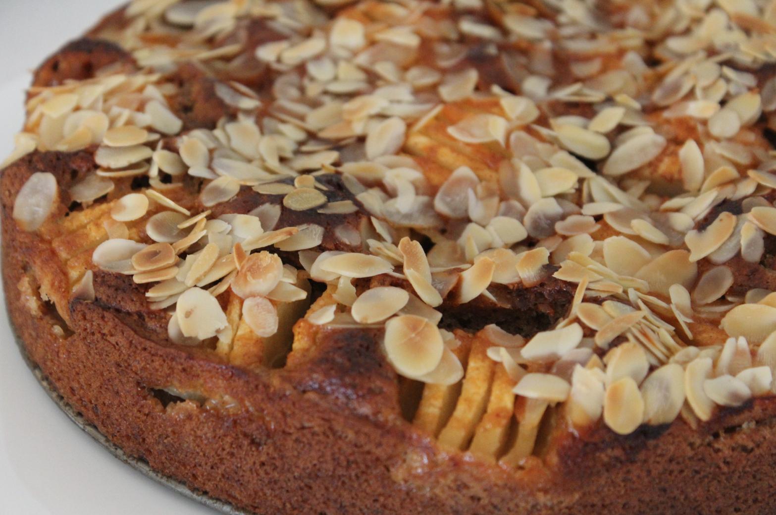 Leckerer Apfel Dinkelkuchen Diegesundheitsexperten