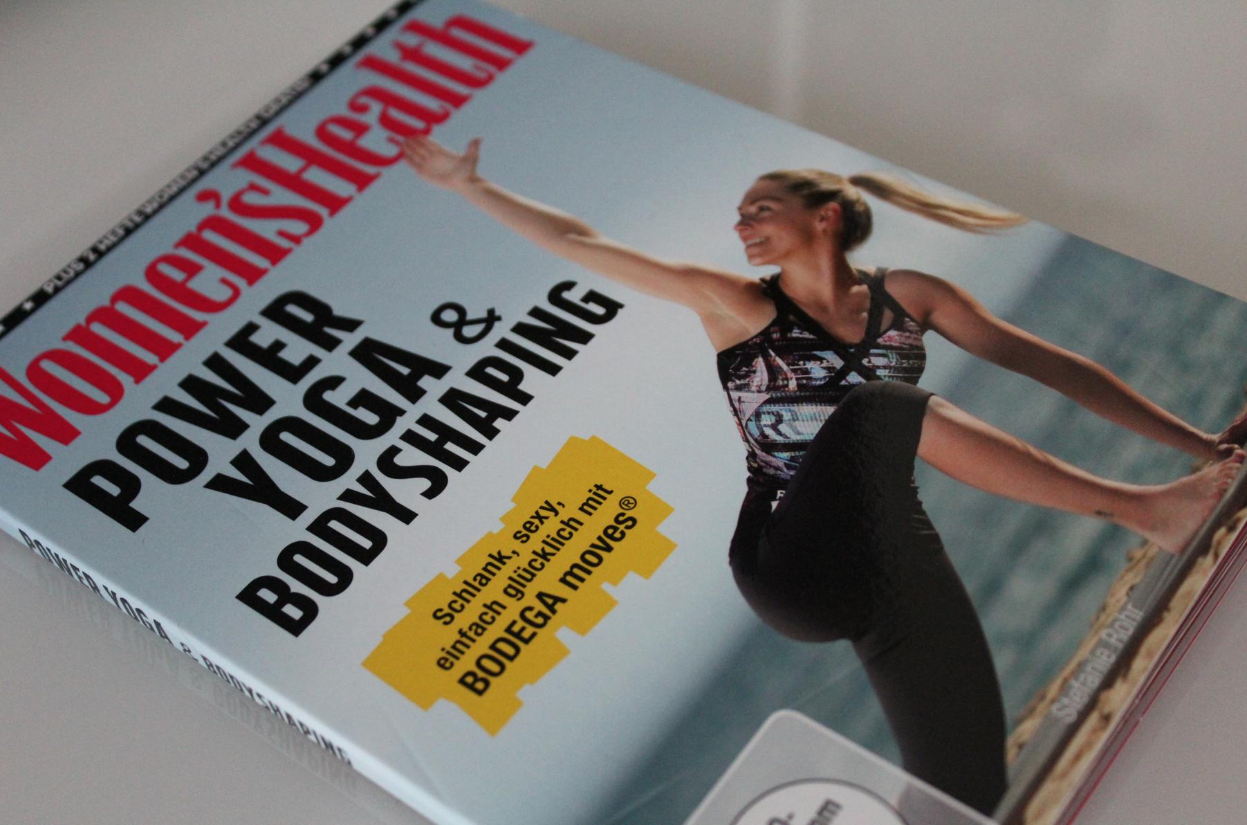 16 Power Yoga & Bodyshaping Womens Health Fitness Dvd