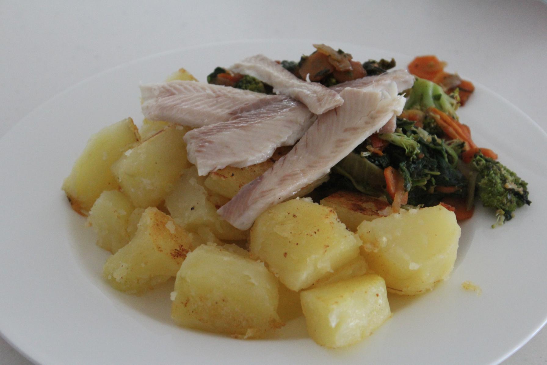 3 Kartoffel Gemüse Fisch