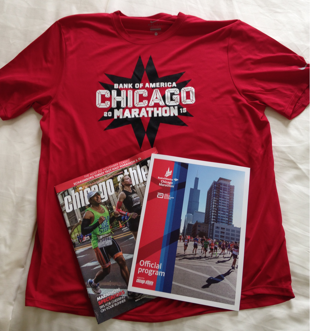 Chicago Marathon Starter Kit