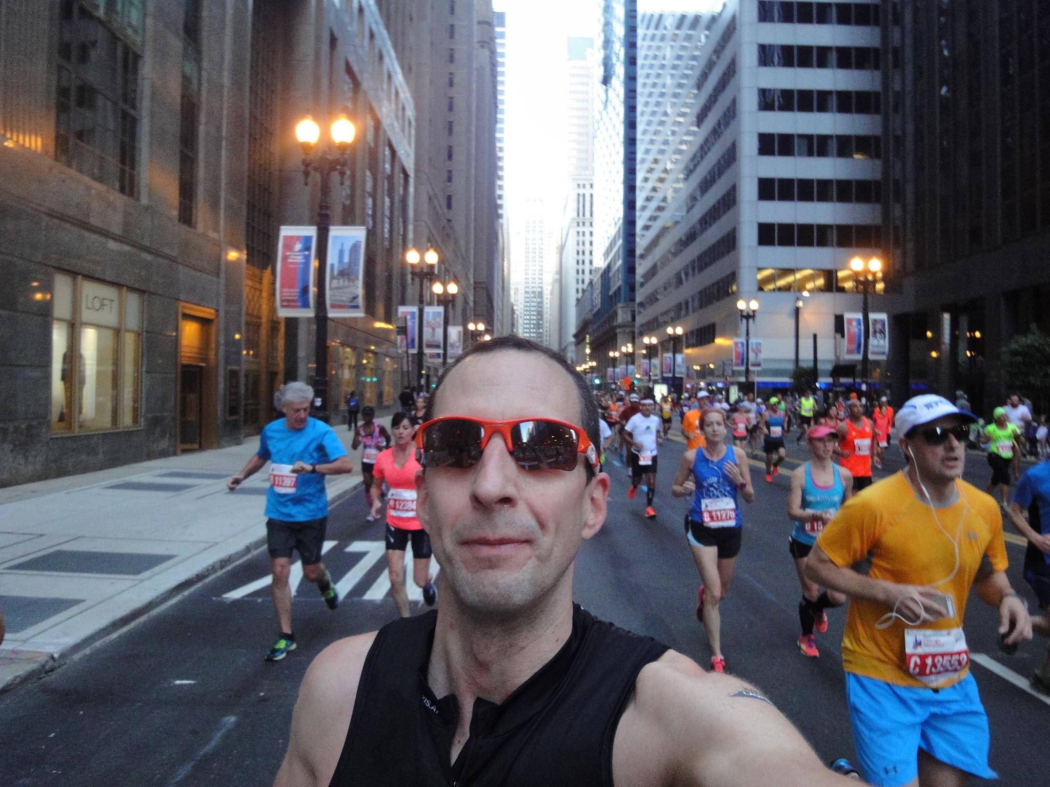 DocTom running in Chicago