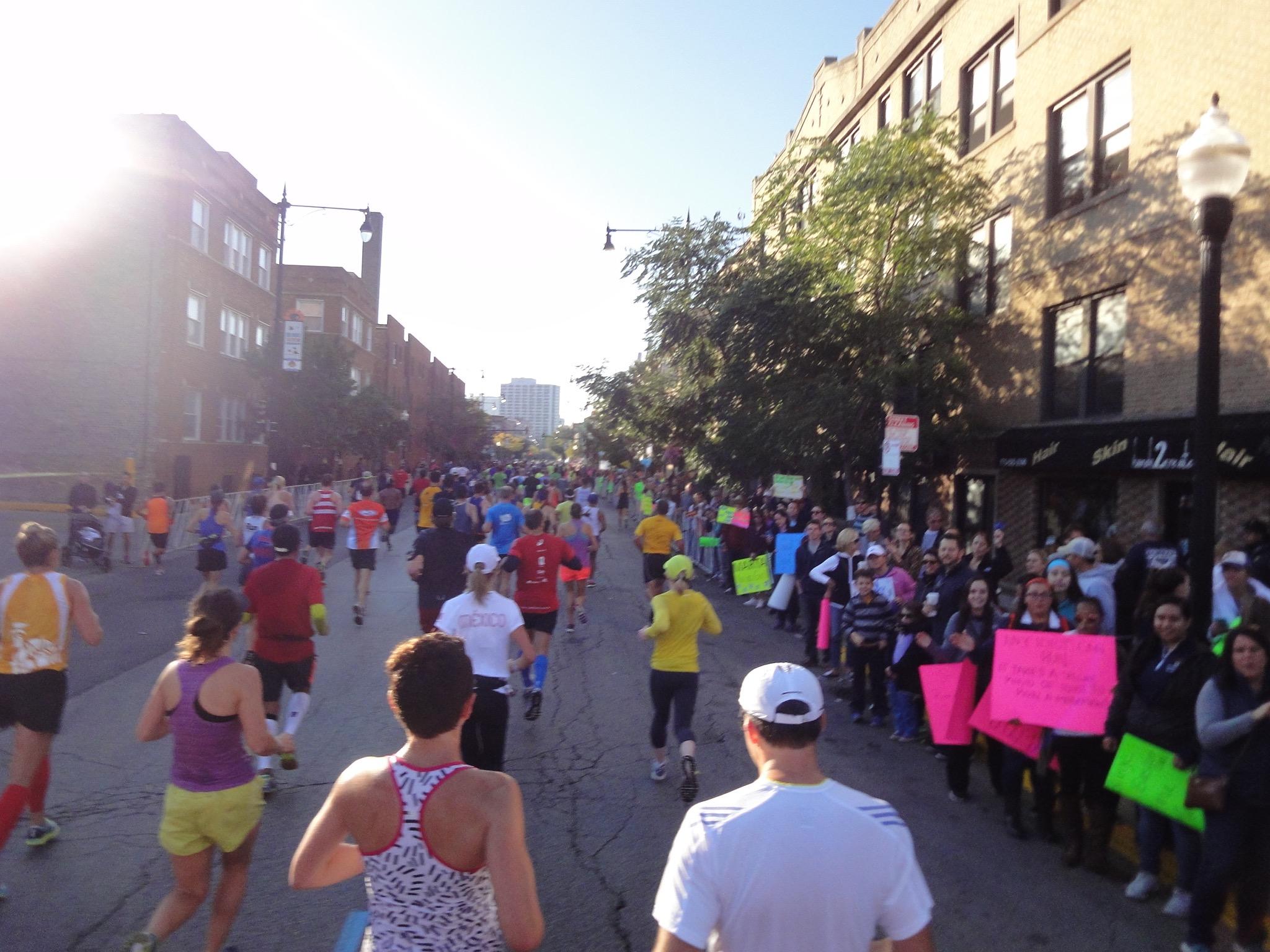 Little Italy & Chinatown Chicago Marathon