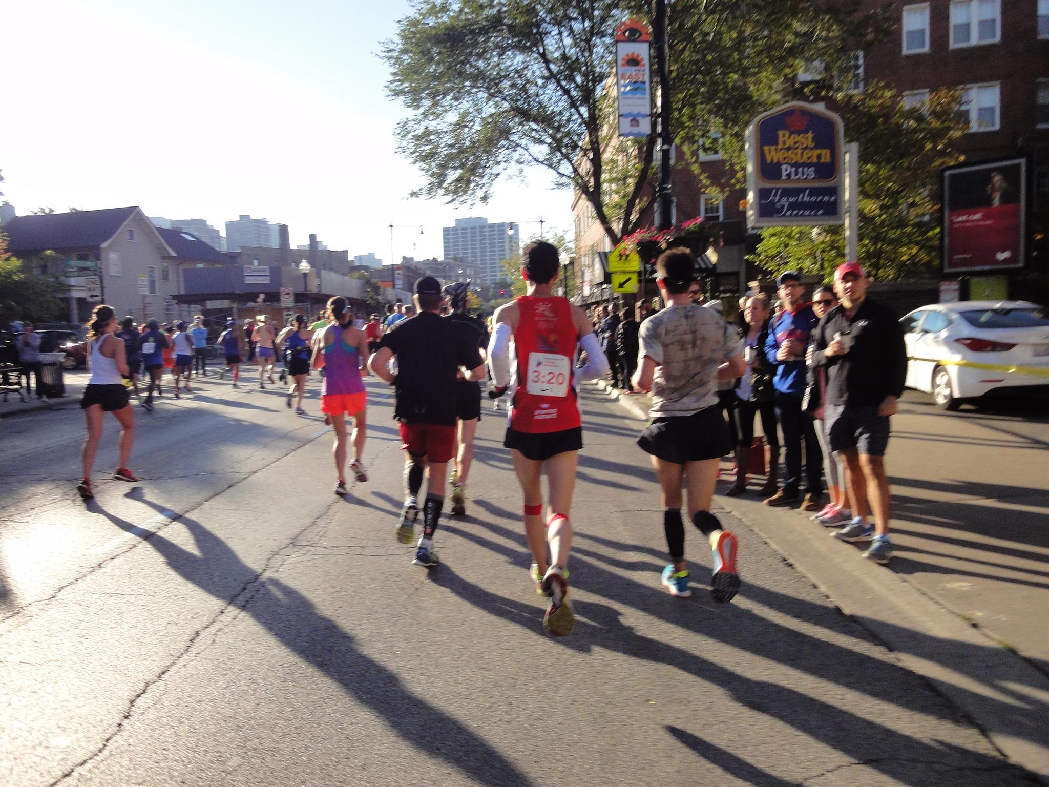 Chicago Marathon 2. Hälfte