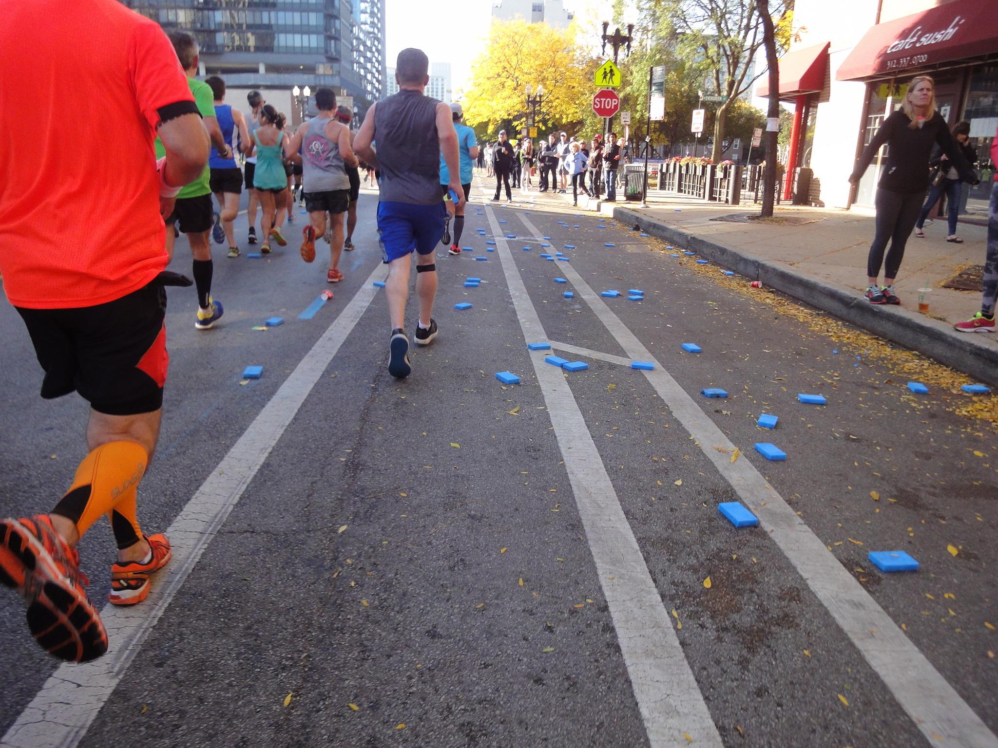 Verpflegungsstation Marathon