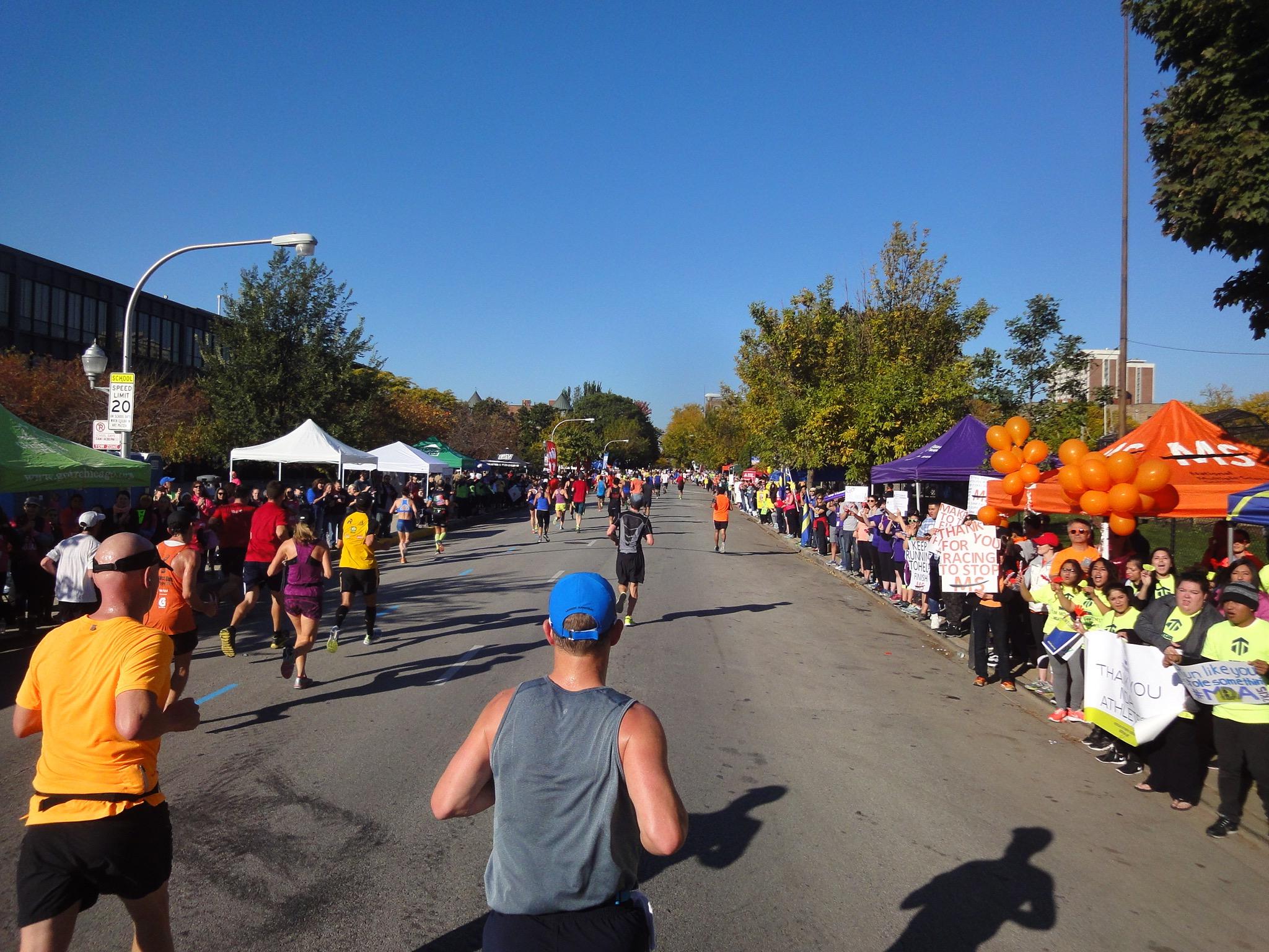 Stimmungsnester Chicago Marathon
