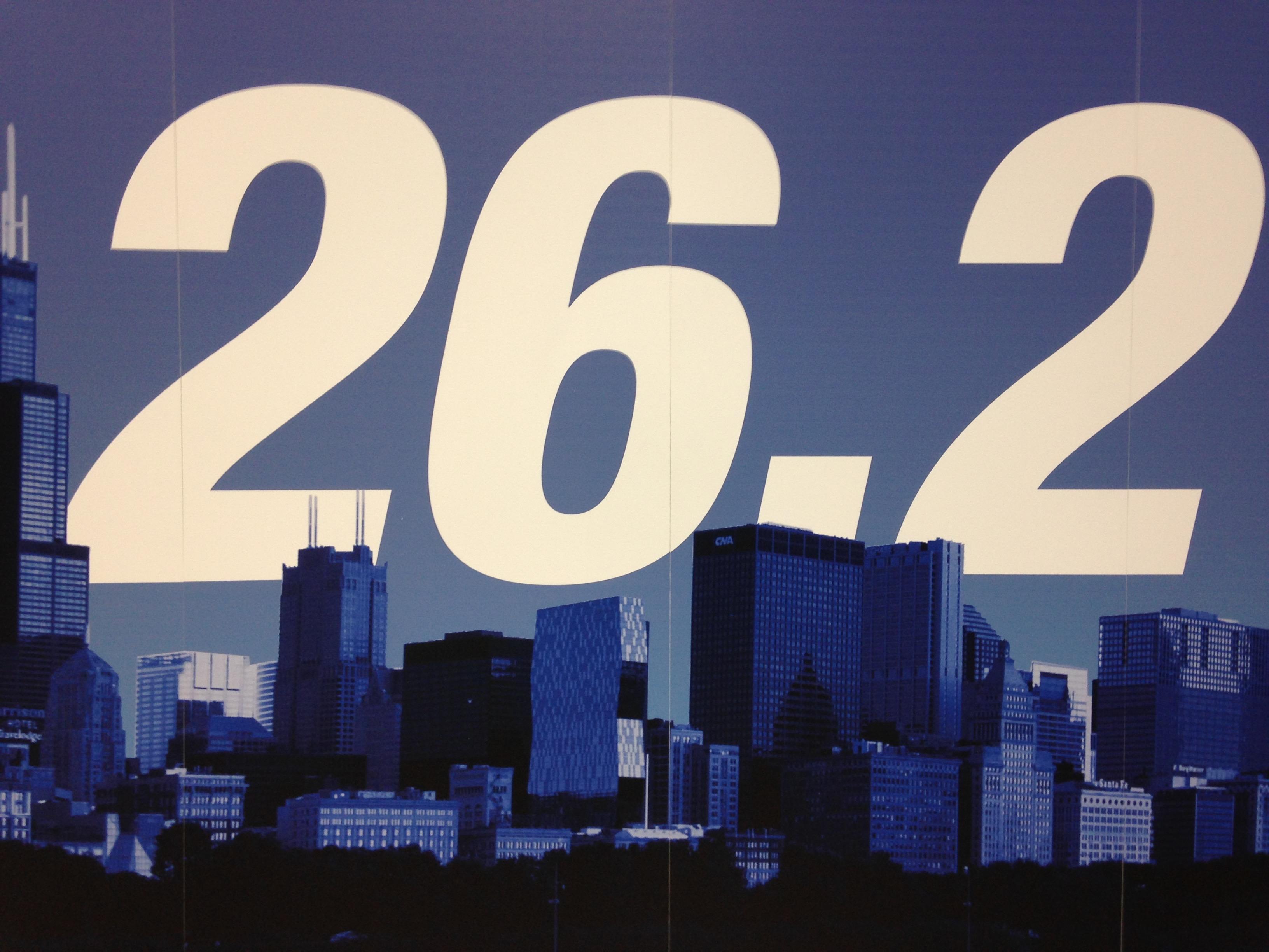 26.2 Miles Chicago Marathon 2015