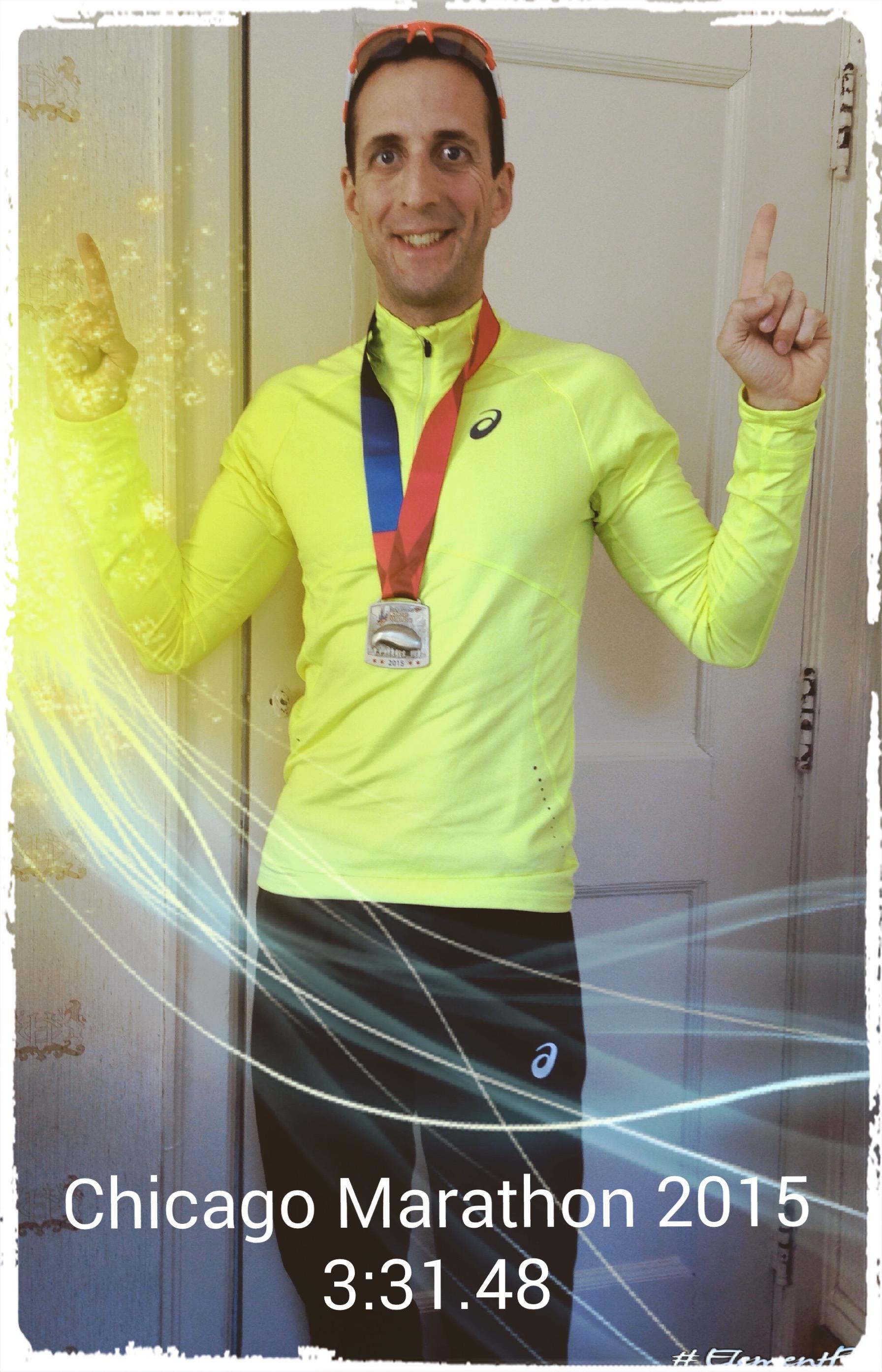 DocTom Finish Chicago Marathon