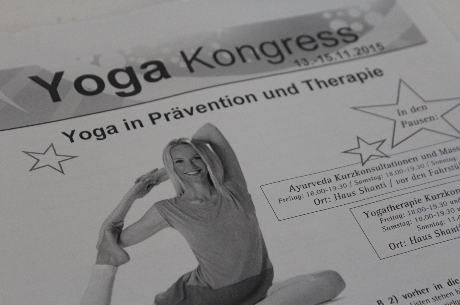 12 Yoga Kongress Yogatherapie
