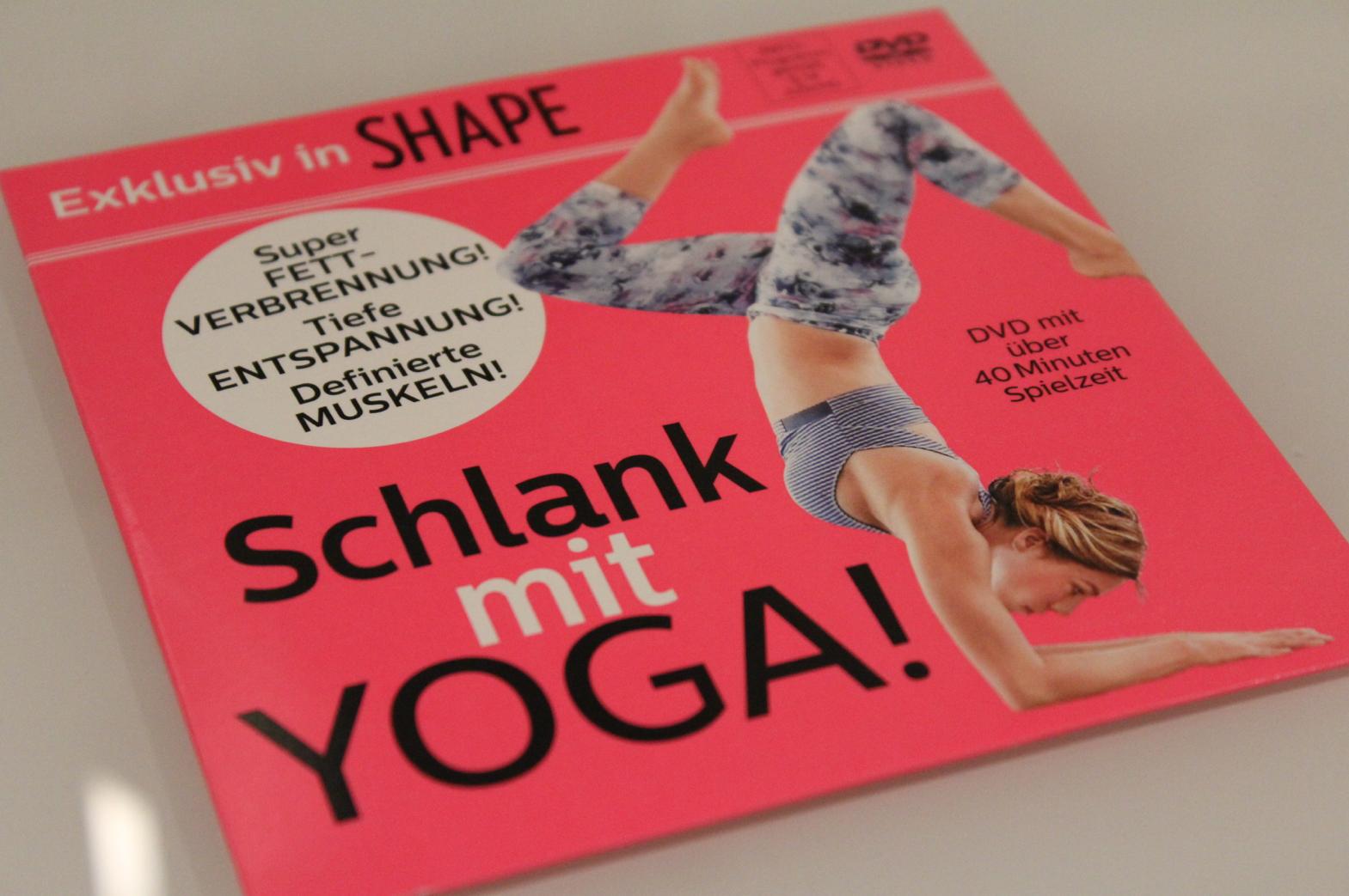 2 SHAPE Gratis Yoga Dvd
