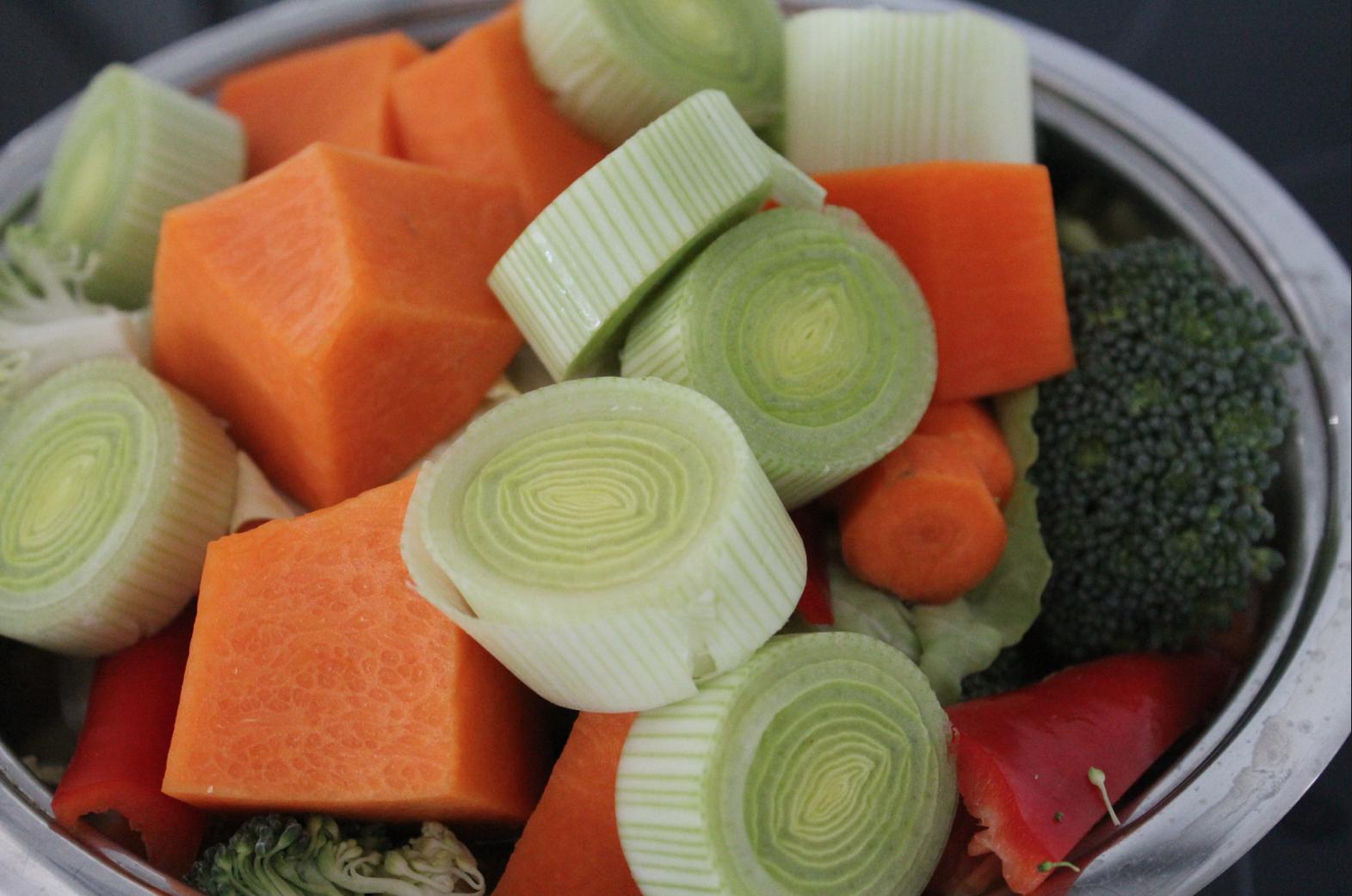2 Suppe Gemüse