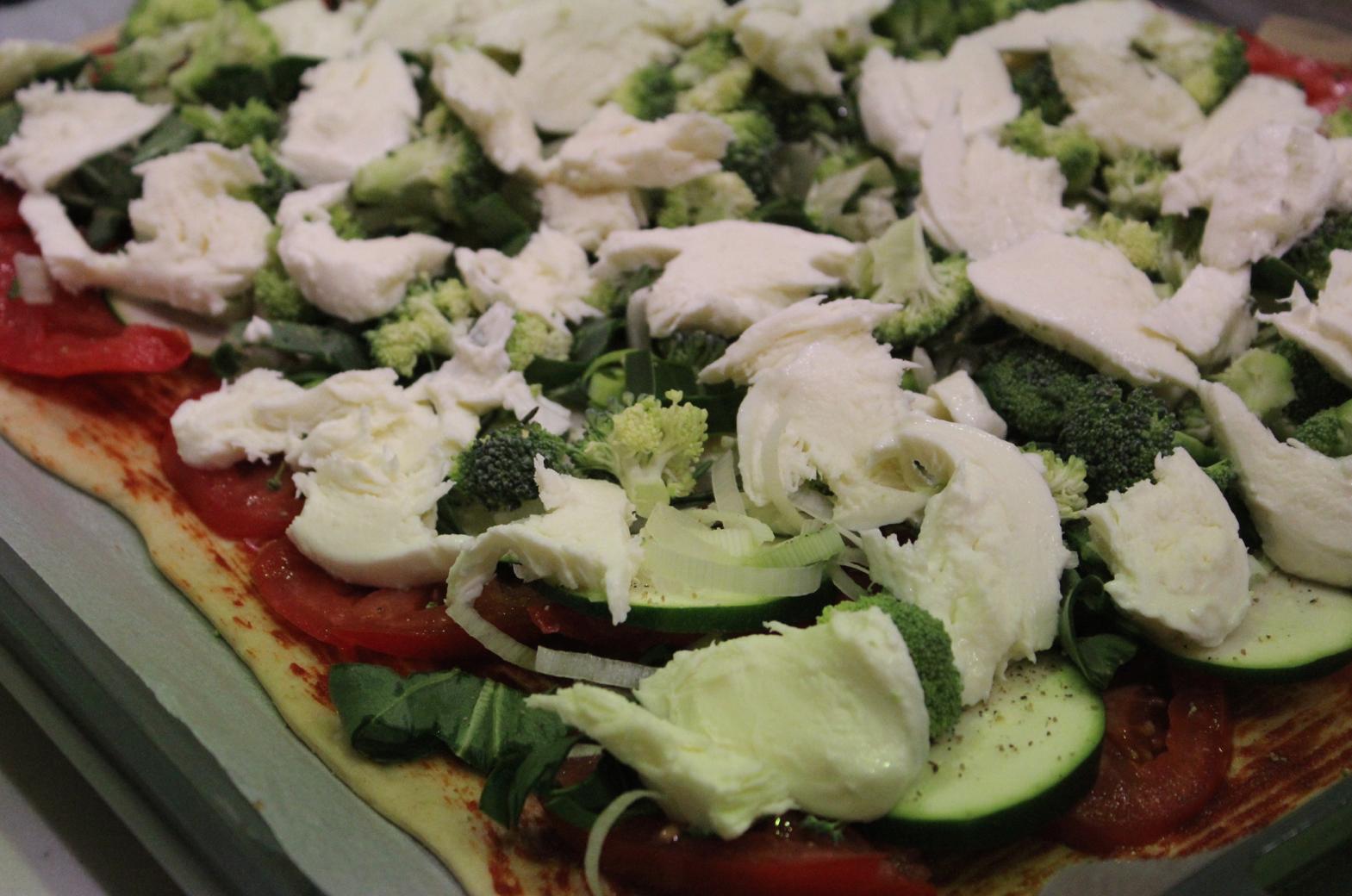25 Gesunde Pizza homemade