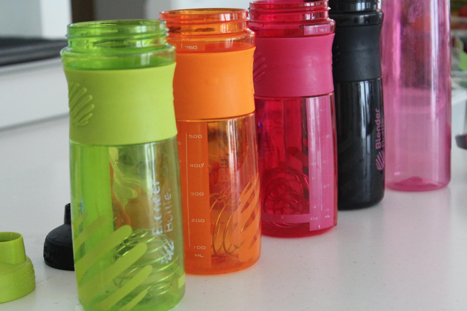 6 Blender Bottles BPA freie Flaschen