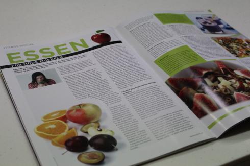 1 Tanzschritt Magazin Essen für müde Muskeln