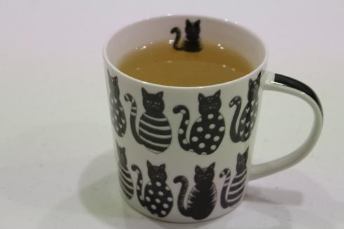 15 Grüner Tee Katzentasse