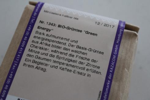 4 Green Energy Bio Tee