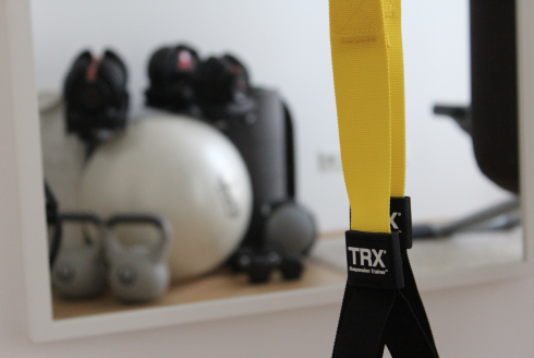 4 Home Gym Trainieren zuhause TRX Functional Training