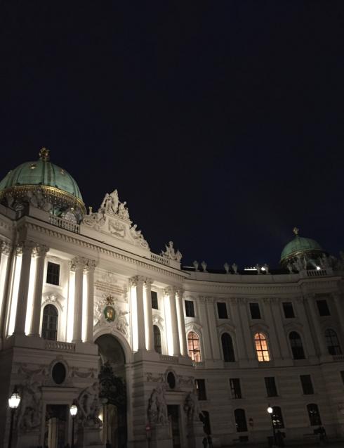 2 Abends in der Wiener Innenstadt