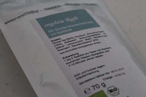 21 Grüntee Kräutertee Gojibeeren Detox Tee