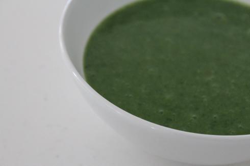 31 Grüne Suppe mit Bärlauch