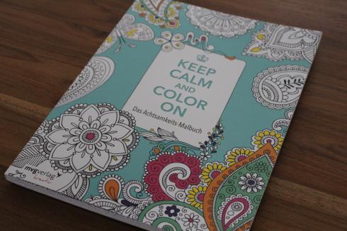 4 Keep Calm und Color on Malbuch