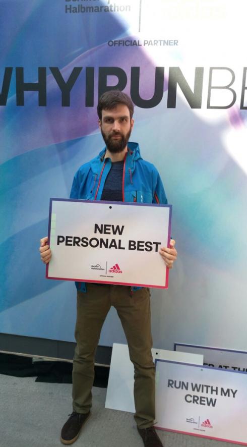 23 New Personal Best Berlin Halbmarathon 2016