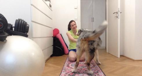 7 Yoga mit Hund MagicCarpetYogamats
