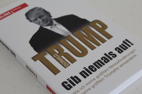 27 Trump gib niemals auf Buch Biografie
