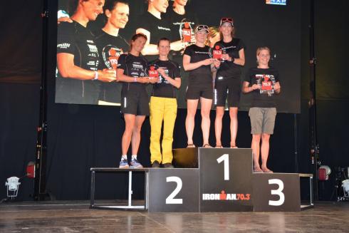 34 Staffel LaufSportPraxis Racing Team Damen Ironman 70.3 St.Pölten
