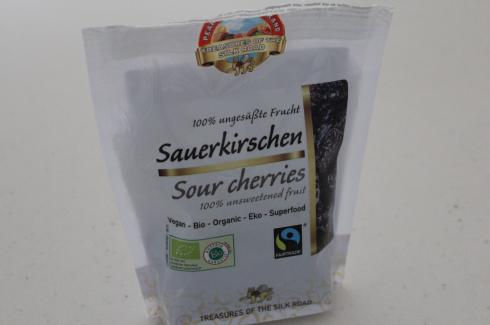 14 Sauerkirschen getrocknet ungesüßt