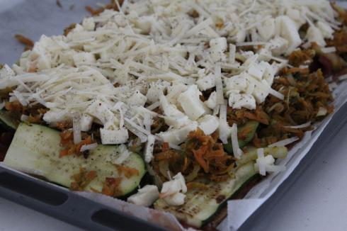 5 Gemüsepizza