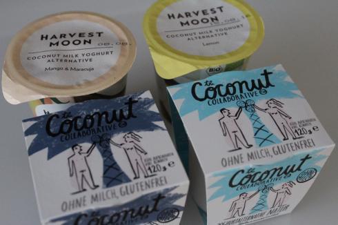 17 Kokosmilch Joghurt als Milchalternative Harvest Moon The Coconut Collaborative laktosefrei glutenfrei