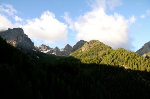 7 Dolomitenhütte Lienz Berge