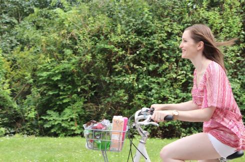 11 Radfahren Einkauf