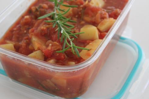 15 Kartoffel Linsen Eintopf mit Rosmarin