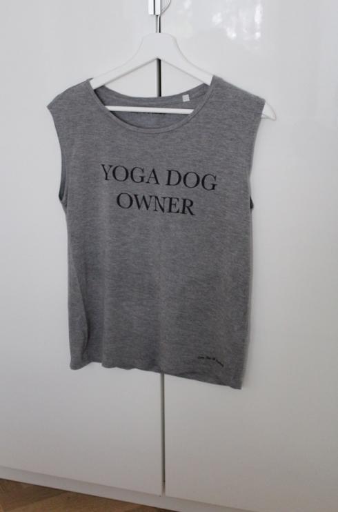 13 Yoga Dog Owner Shirt Tank Top