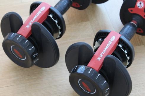 22 Bowflex Hanteln Workout
